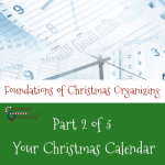 Foundations of a Christmas Calendar