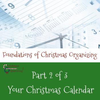 Foundations of a Christmas Calendar