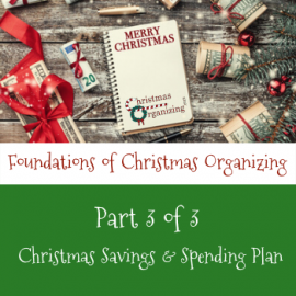 Savings And Spending Plan