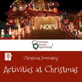 Activities At Christmas