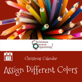 Assign Different Colors