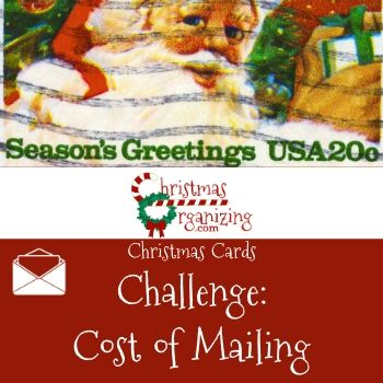 Cost of Mailing Cards