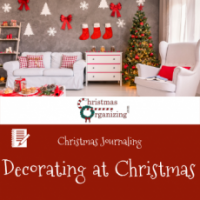Decorating At Christmas