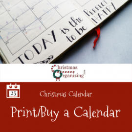 Print or Buy a Calendar