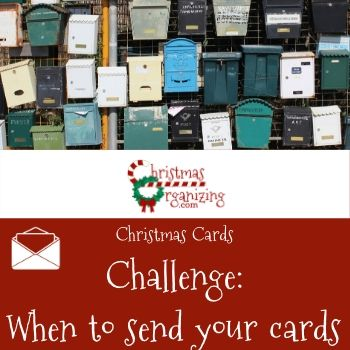 When to send your cards