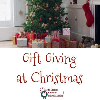 Gift Giving at Christmas