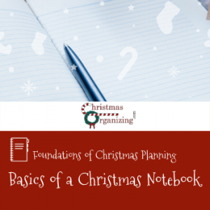 The Basics Of Creating A Christmas Notebook