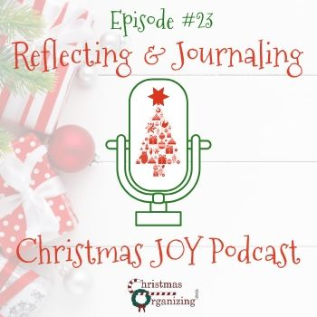 Christmas Reflecting And Journaling