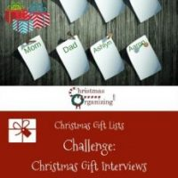 Christmas Gift Interviews