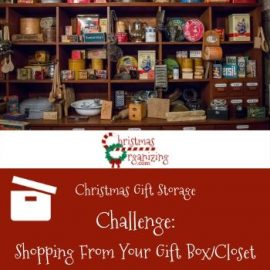 Shopping from Your Gift Box