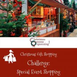 Special Event Christmas Shopping