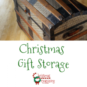 Christmas Gift Storage