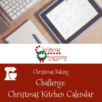Christmas Kitchen Calendar