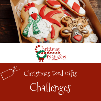 Christmas Food Gifts Challenges