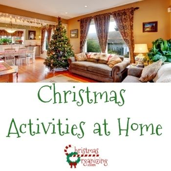 Christmas Activities at Home